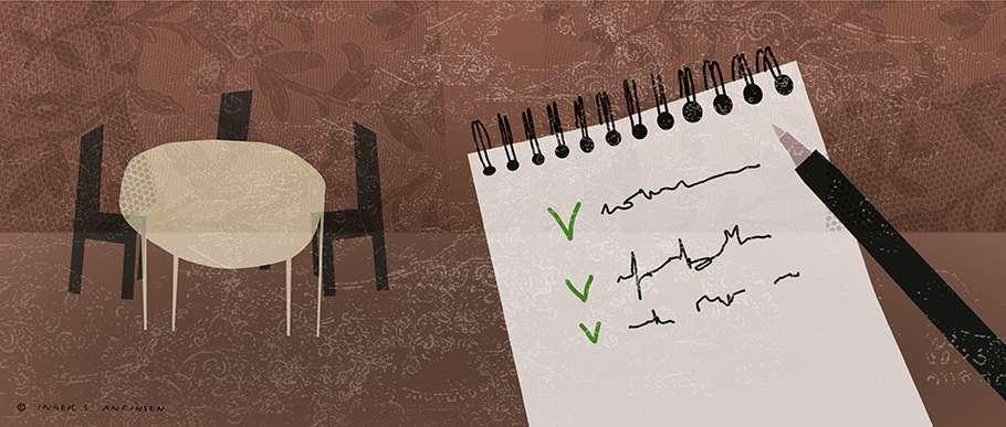 ark og penn foreberedelse anmeldelse
