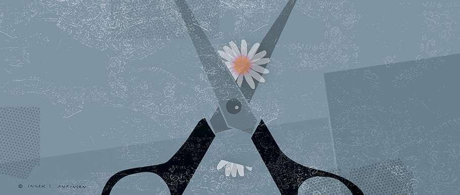 Hva er kjønnslemlestelse - illustrasjon overgrep vold