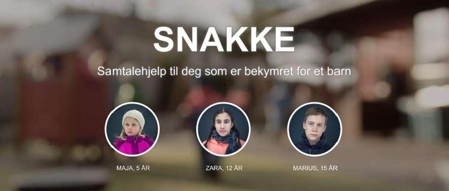 Illustrasjon fra opplæringsplattformen SNAKKE